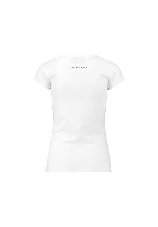 RBR Dames Logo Tee Wit