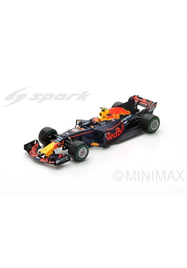 Max Verstappen Schaalmodel RB13 1:18 GP China 3e plaats