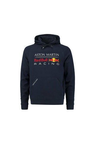 Red Bull Racing RBR Kids Large Logo Hoody  blauw