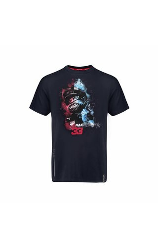 Red Bull Racing RBR Mens Verstappen Vapour Car Tee