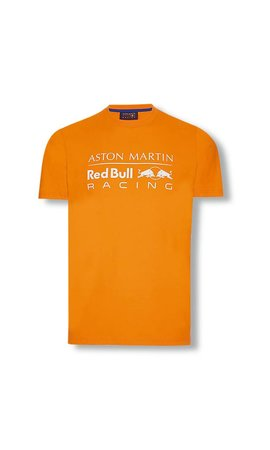 Red Bull Racing Max Verstappen Orange Tee