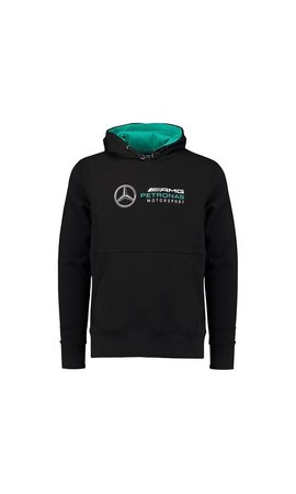 Mercedes F1 Hoody Zwart 2018