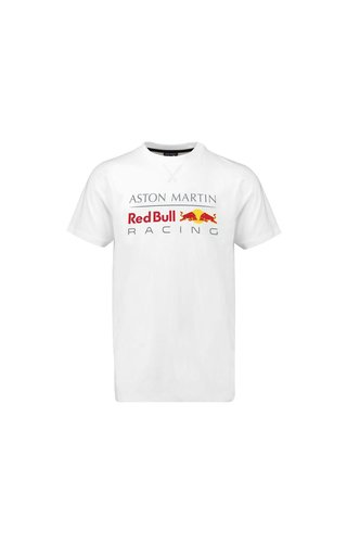 Red Bull Racing RBR Large Logo T-Shirt Wit 2018