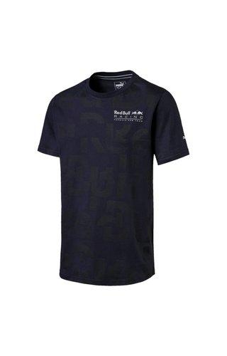 PUMA RBR Shirt Letters Blauw