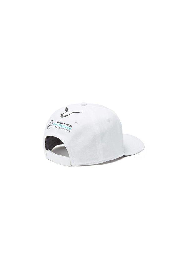 Mercedes Cap Lewis Hamilton Wit Plat