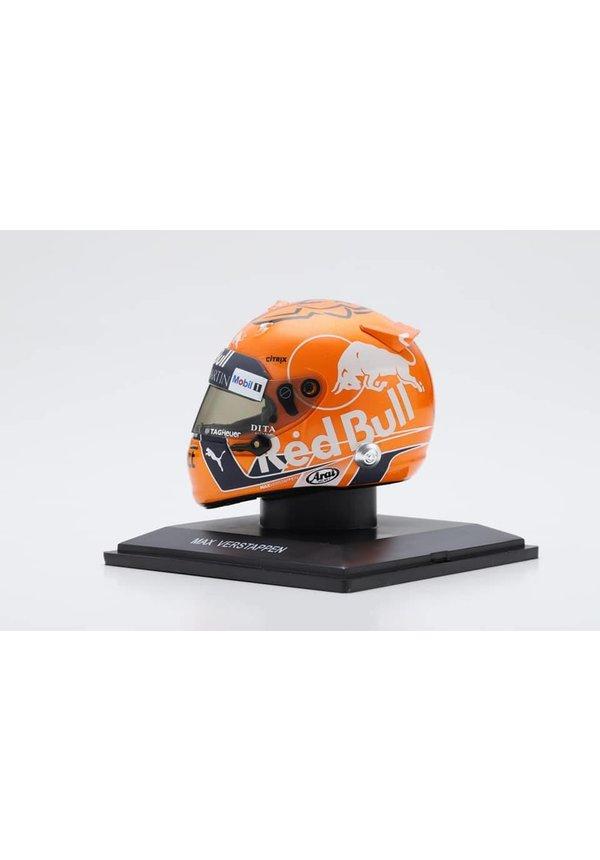 Max Verstappen Helm Spa 2018 1:5 Uitverkocht alleen nog verkrijgbaar in onze winkel!