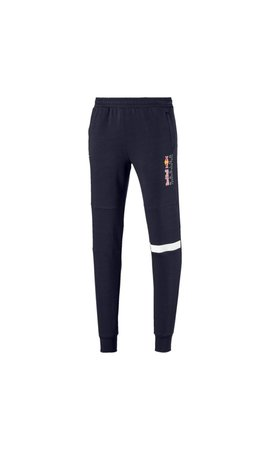 PUMA RBR Logo Sweat Pants Blauw Puma