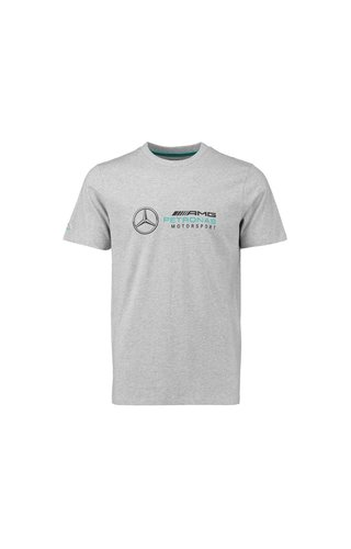 Mercedes Mercedes Logo Tee Grijs