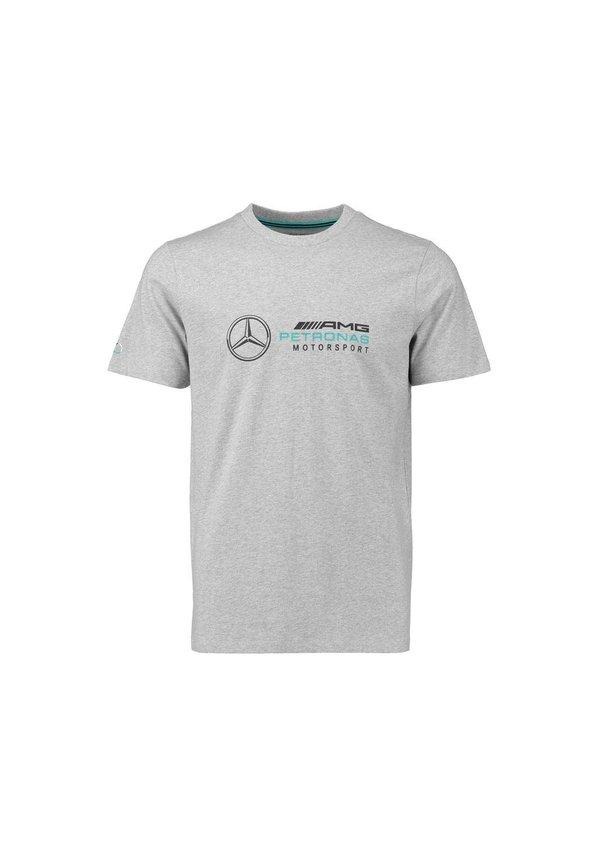 Mercedes Logo Tee Grijs