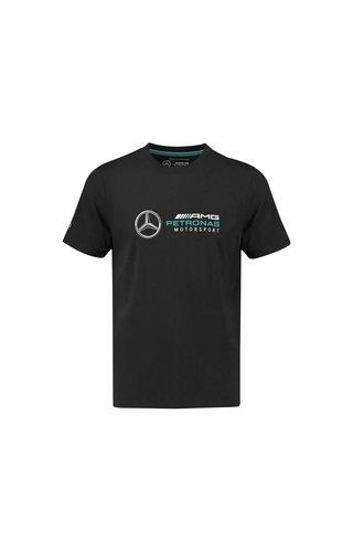 Mercedes Mercedes logo tee zwart