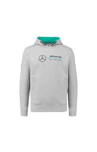 Mercedes  Logo Hoody Grijs