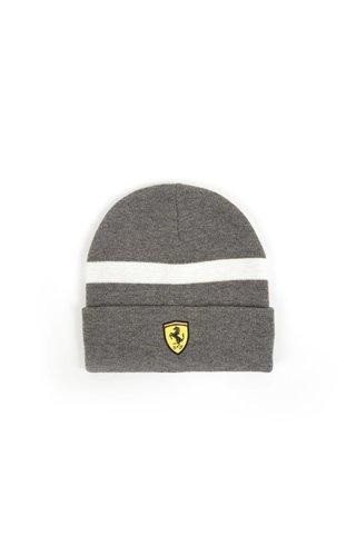 Ferrari Beanie Grijs