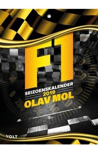 Olav Mol Olav Mol - F1 Seizoenskalender 2019 vanaf 26-2 leverbaar