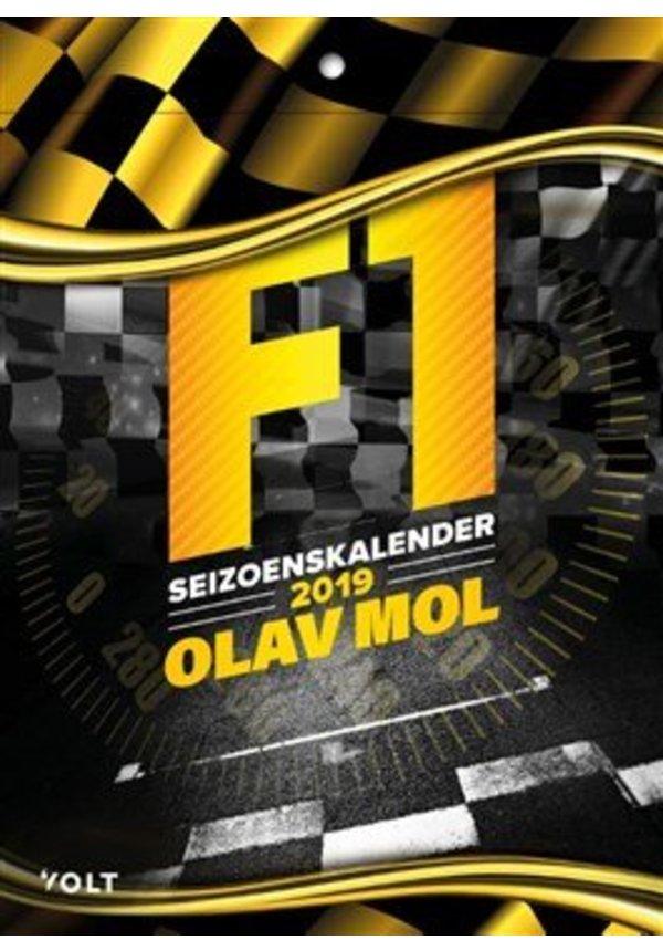 Olav Mol - F1 Seizoenskalender 2019 vanaf 26-2 leverbaar