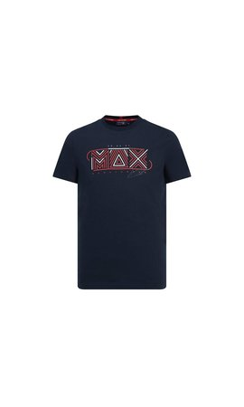 Red Bull Racing Max Verstappen Grapic logo shirt navy