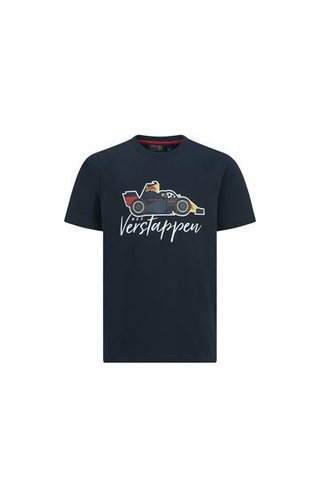 Red Bull Racing Max Verstappen kids shirt Cars