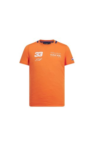 Red Bull Racing Max Verstappen FW Shirt Orange