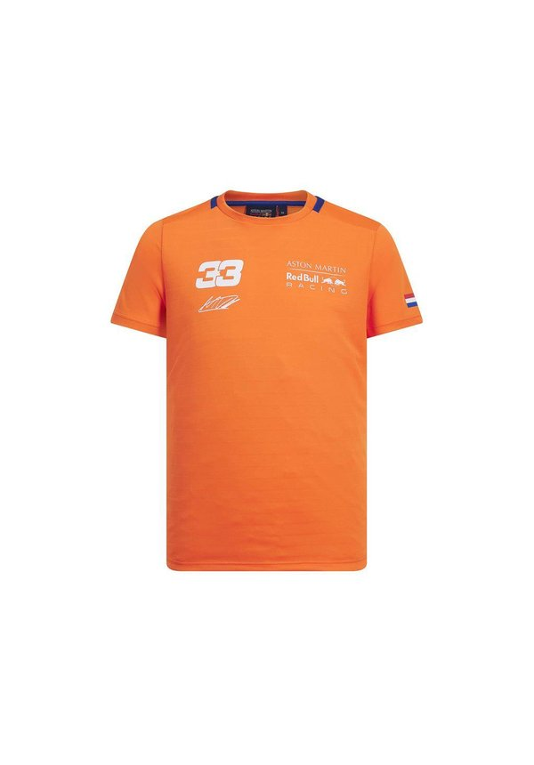 Max Verstappen FW Shirt Orange 2019