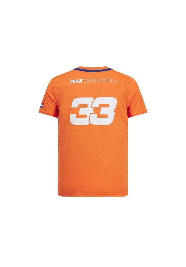 Max Verstappen FW Shirt Oranje 2019