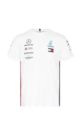 PUMA Mercedes Teamline T-shirt wit 2019
