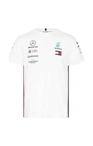 PUMA Mercedes Teamline T-shirt wit 2019