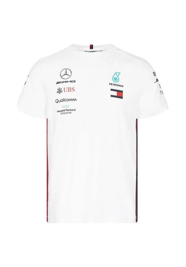 Mercedes Teamline T-shirt wit 2019