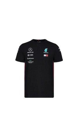 PUMA Mercedes Teamline T-shirt zwart 2019