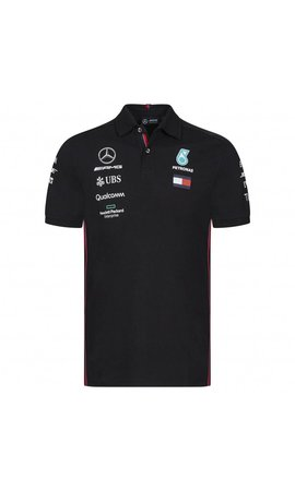 Mercedes Mercedes Polo F1 Team Zwart 2019