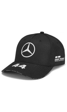 Mercedes Mercedes Team Lewis Hamilton Driver Baseball Cap Black 2019