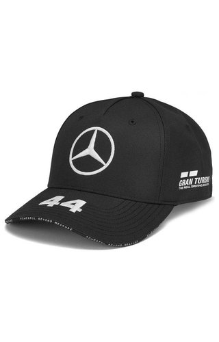 Mercedes Mercedes Team Lewis Hamilton Driver Baseball Cap Zwart 2019
