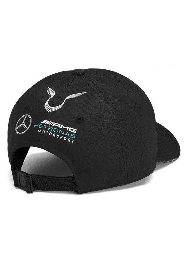 Mercedes Team Lewis Hamilton Driver Baseball Cap  Zwart 2019