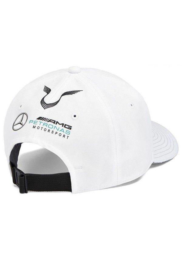Mercedes Team Lewis Hamilton Driver Baseball Cap Wit 2019