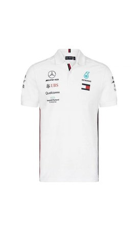 Mercedes Mercedes Polo F1 Team White 2019