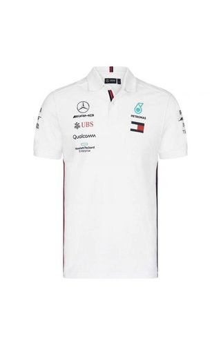 Mercedes Mercedes Polo F1 Team Wit 2019