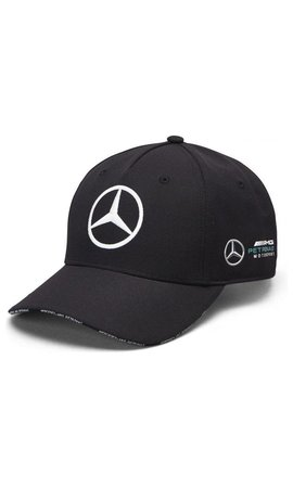 Mercedes Mercedes Team Team Baseball Cap Black 2019