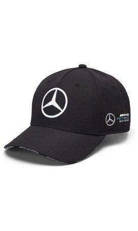 Mercedes Mercedes Team Team Baseball Cap Zwart 2019