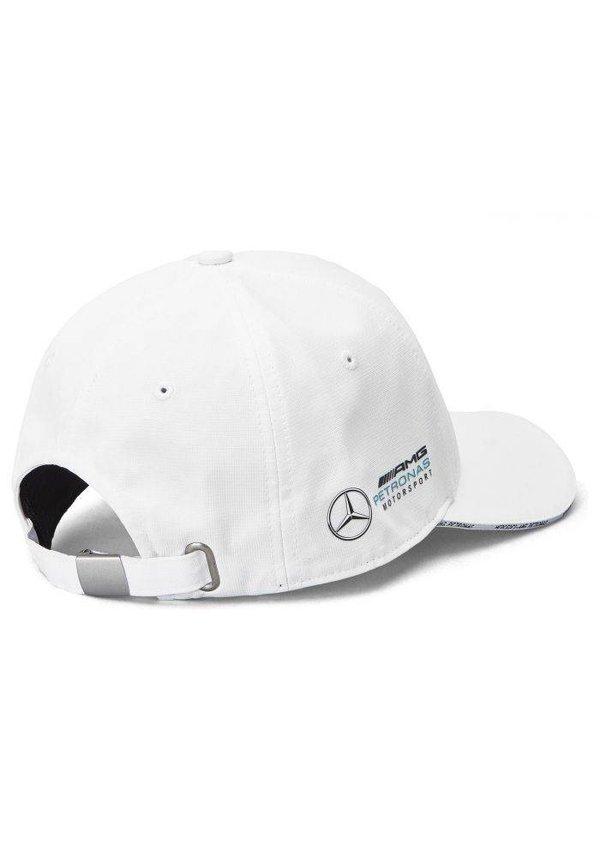 Mercedes Team Team Baseball Cap Wit 2019