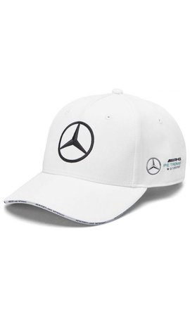 Mercedes Mercedes Team Team Baseball Cap White 2019