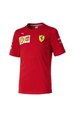 Ferrari Scuderia Ferrari Team Kids Team T-Shirt 2019