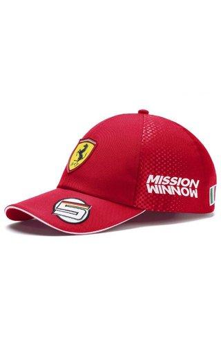PUMA Scuderia Ferrari Team Sebastian Vettel Baseball Cap 2019