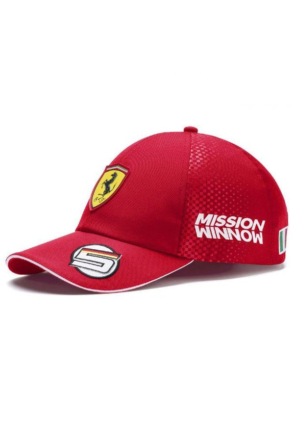 Scuderia Ferrari Team Sebastian Vettel Baseball Cap 2019