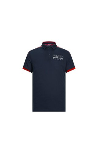 Red Bull Racing RBR seasonal polo blauw rood