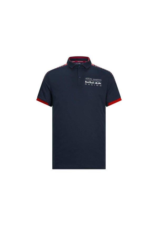 RBR seasonal polo blauw rood