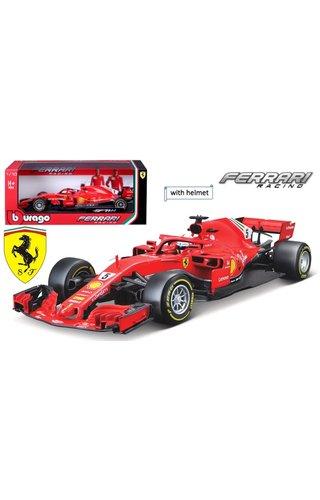 BURAGO Seb Vettel Burago 1:18 SF71H