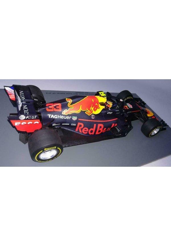 SPARK Max Verstappen 1:18 Winnaar Oostenrijk RB14