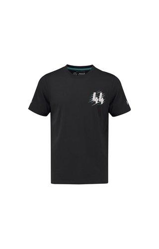 Mercedes LEWIS HAMILTON  T-shirt #44 BLACK