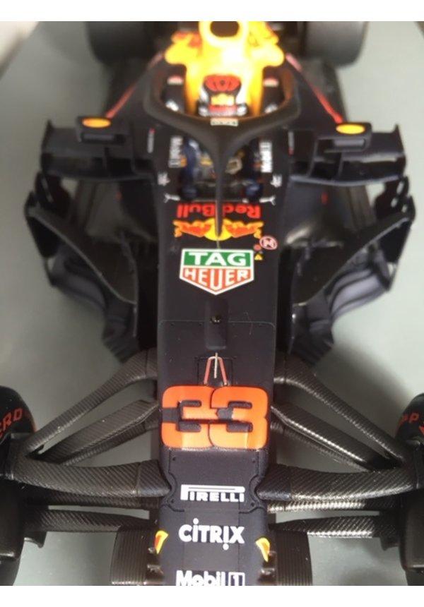 Max Verstappen Schaalmodel Spark 1:18 Winnaar Mexico