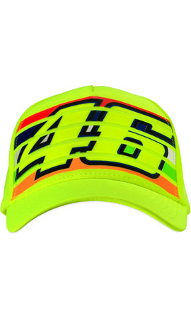 Valentino Rossi Cap Stripes Yellow