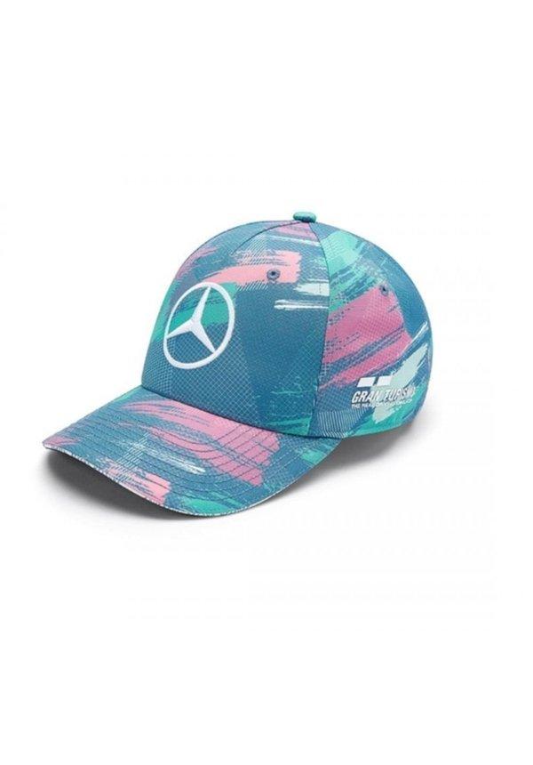 Lewis Hamilton Mercedes Barcelona Cap