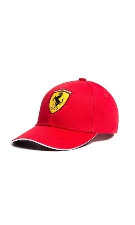 Ferrari Classic Cap red